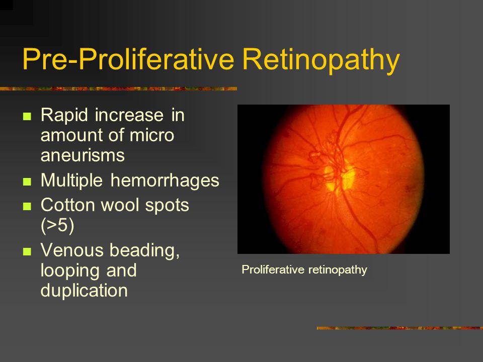 Pre-Proliferative Retinopathy