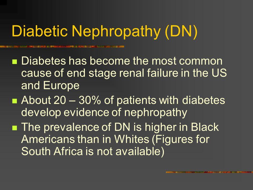 Diabetic Nephropathy (DN)