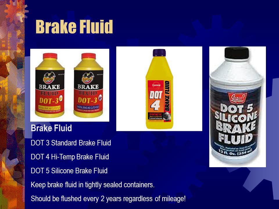 Brake Fluid Brake Fluid DOT 3 Standard Brake Fluid