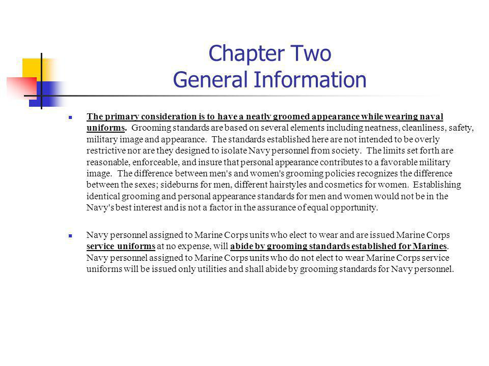 Chapter Two General Information