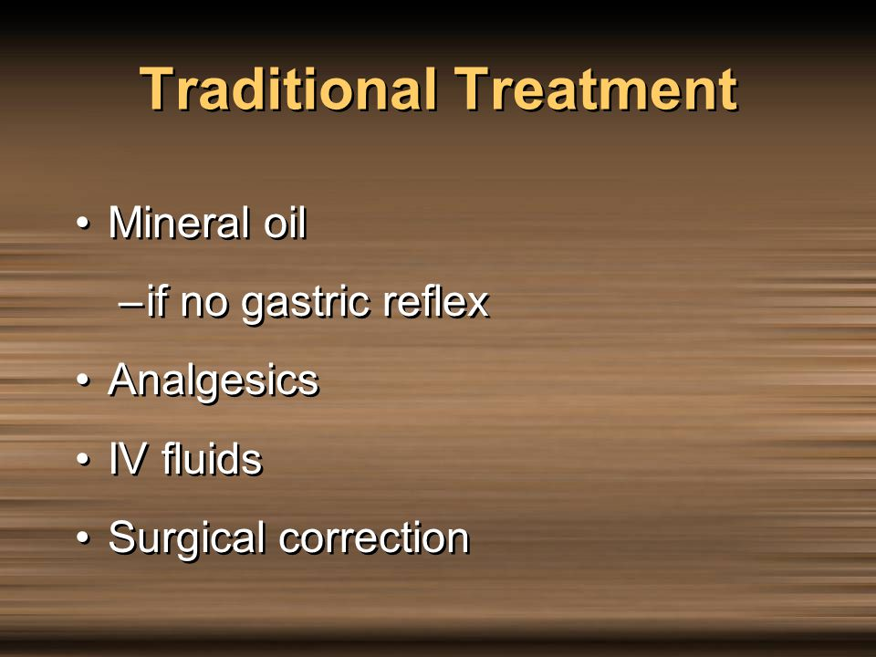 Traditional Treatment