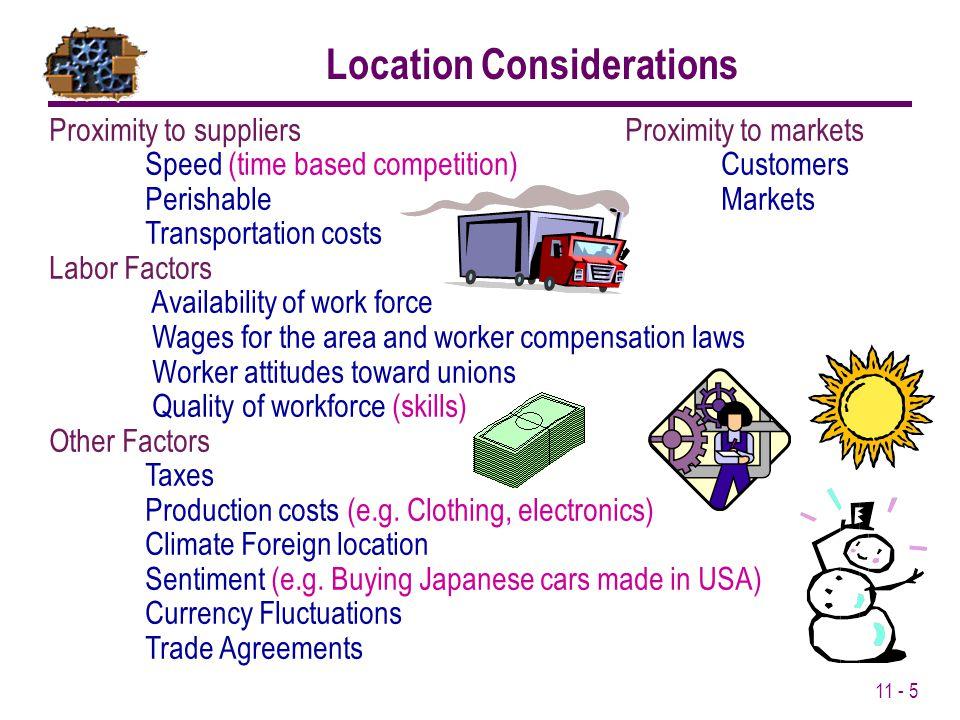 Location Considerations