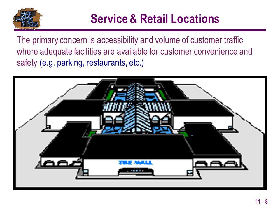 Service & Retail Locations