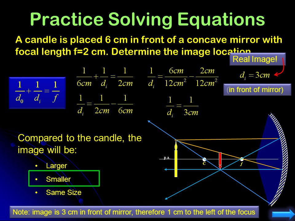 Practice Solving Equations