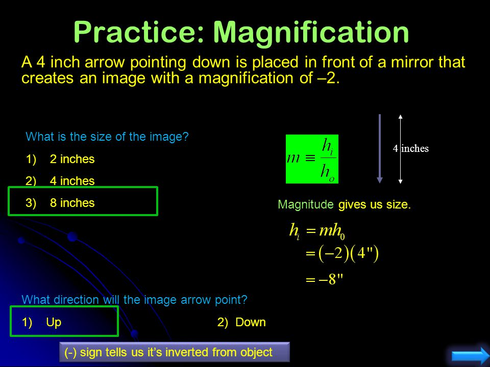 Practice: Magnification