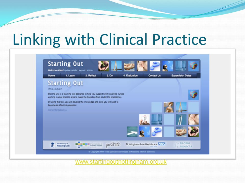 Linking with Clinical Practice