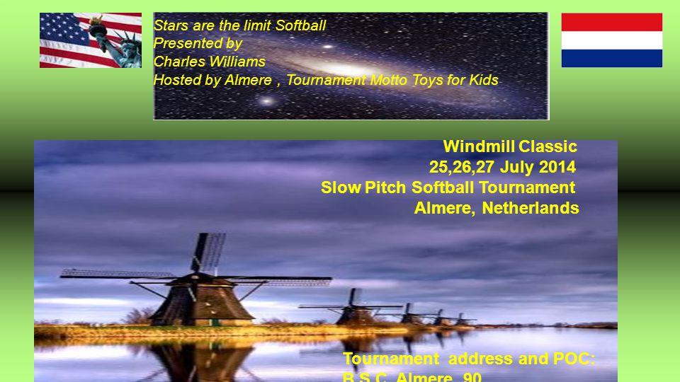 Slow Pitch Softball Tournament Almere, Netherlands
