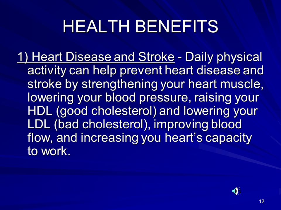 The Benefits Of Physical Activity For Heart Disease Essay