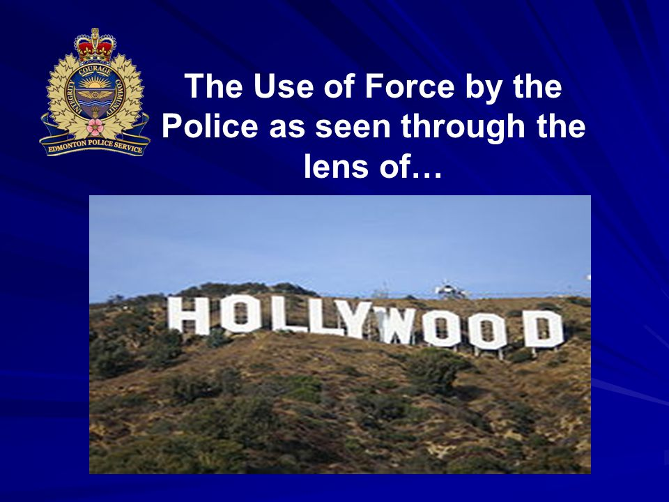The Use of Force by the Police as seen through the lens of…