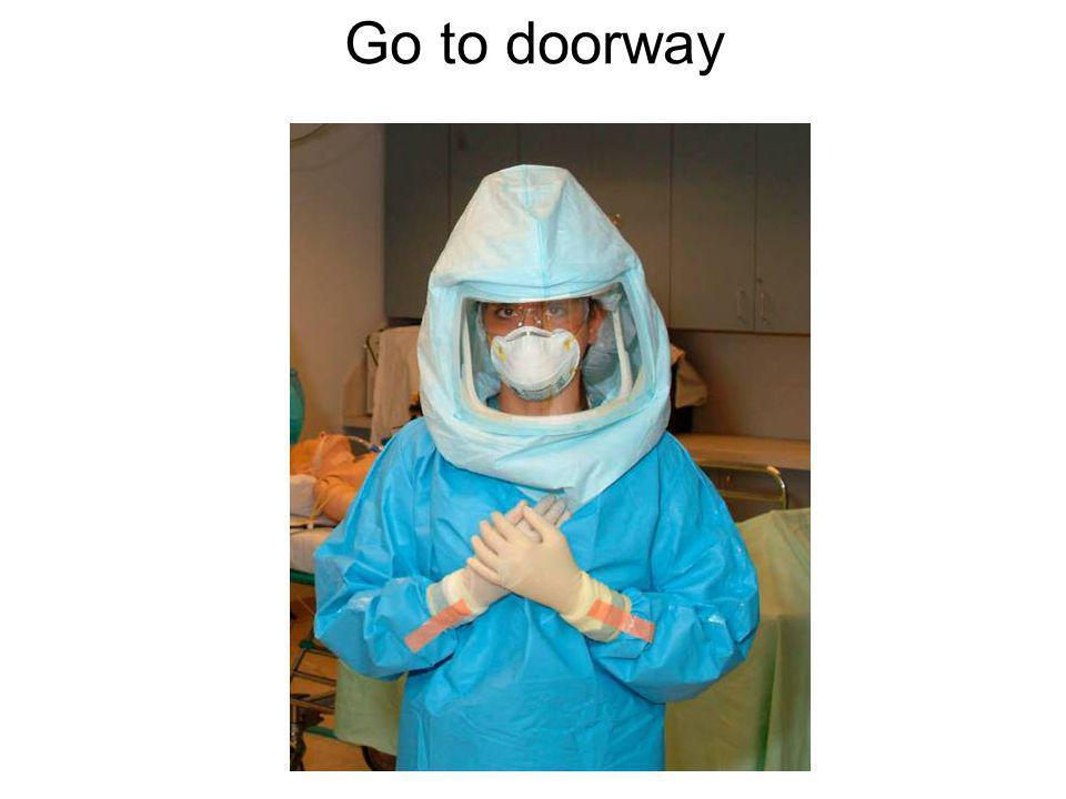 Go to doorway