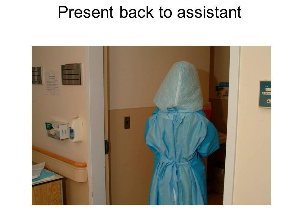 Present back to assistant