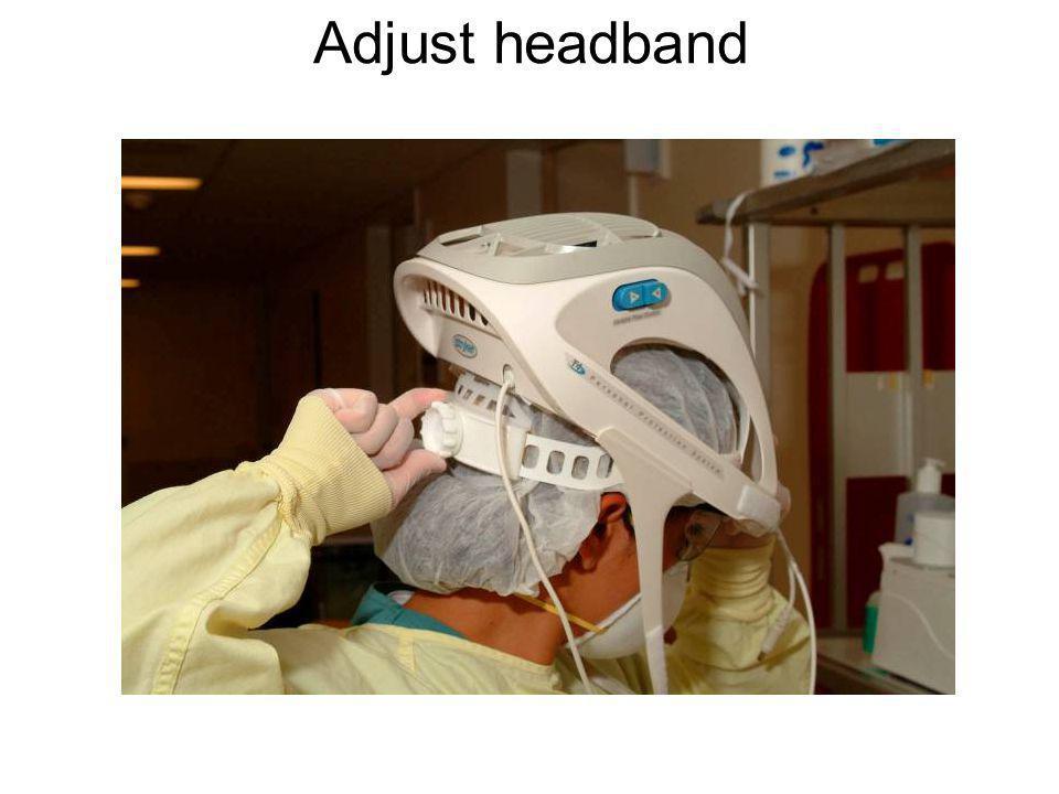 Adjust headband