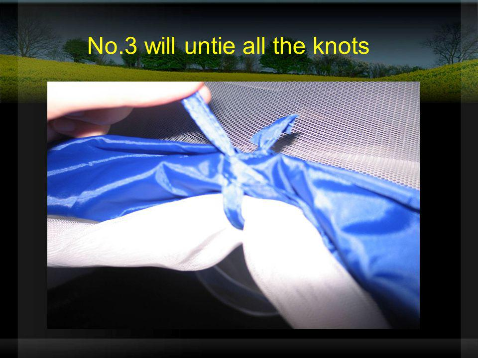 No.3 will untie all the knots