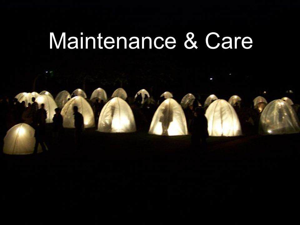Maintenance & Care