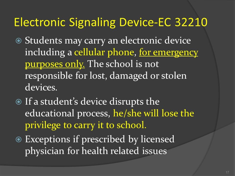 Electronic Signaling Device-EC 32210