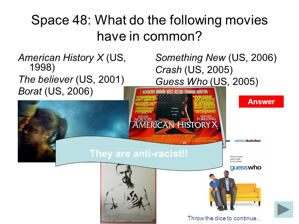 Space 48: What do the following movies have in common