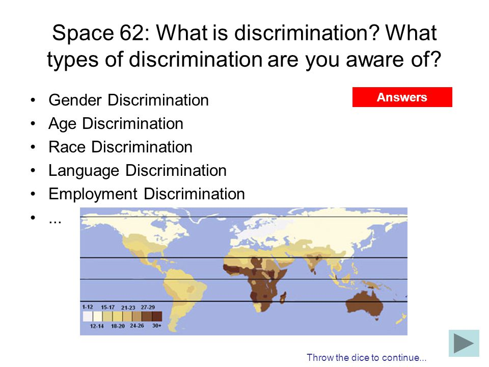 Space 62: What is discrimination