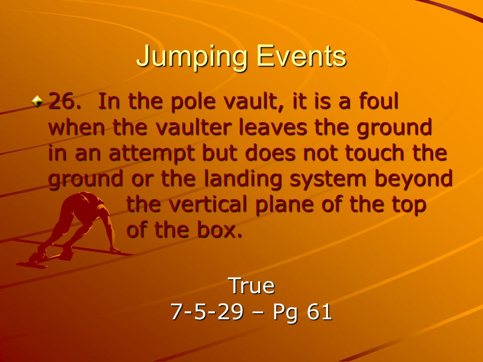 Jumping Events
