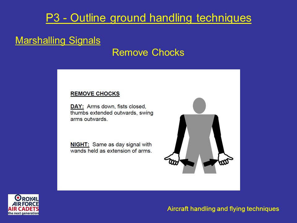 P3 - Outline ground handling techniques