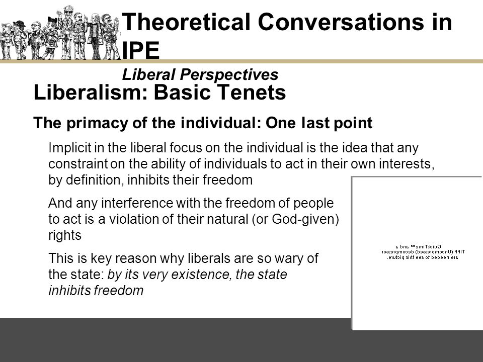 Theoretical Conversations in IPE Liberal Perspectives