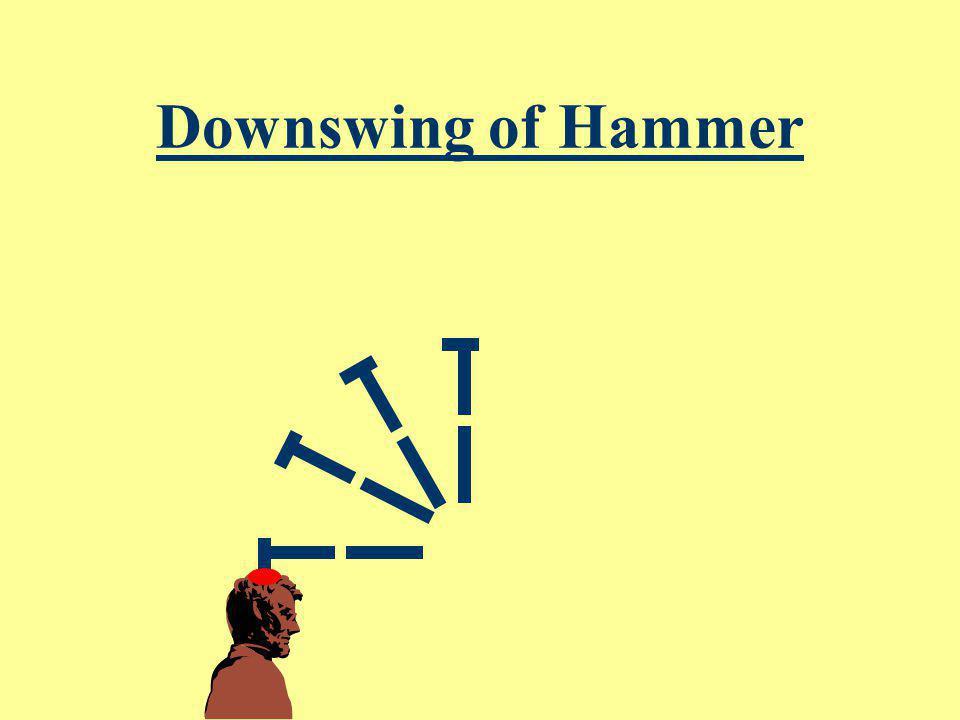 Downswing of Hammer