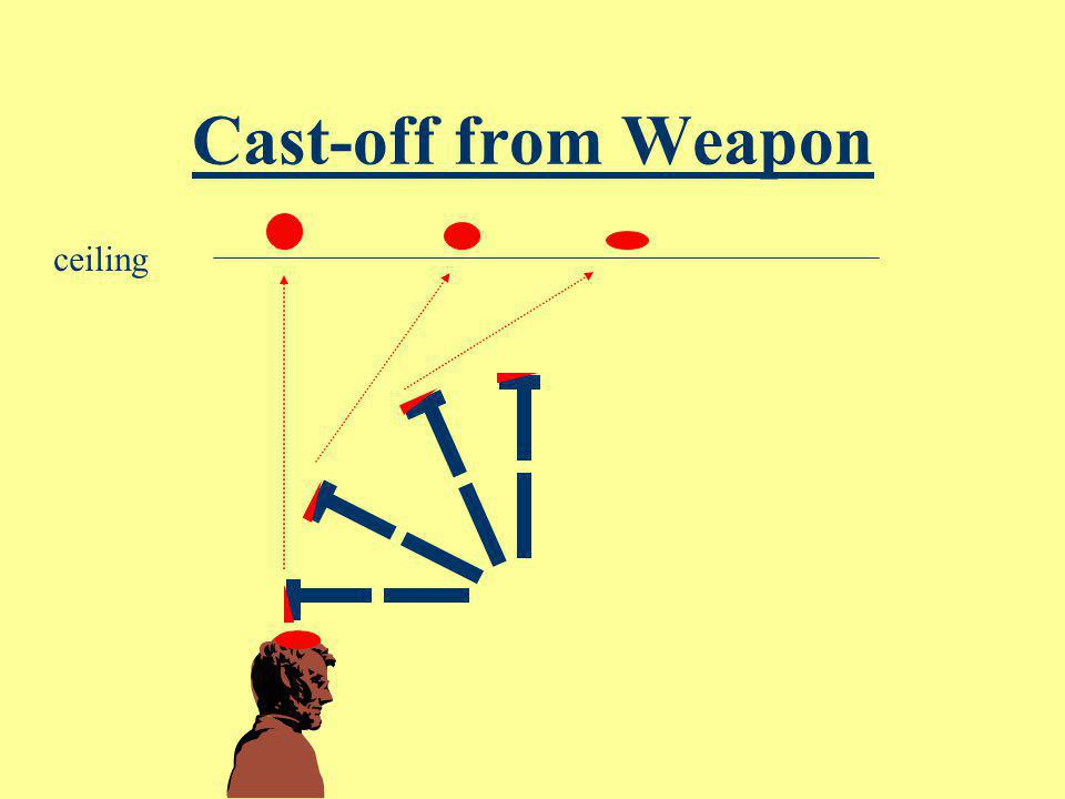 Cast-off from Weapon ceiling