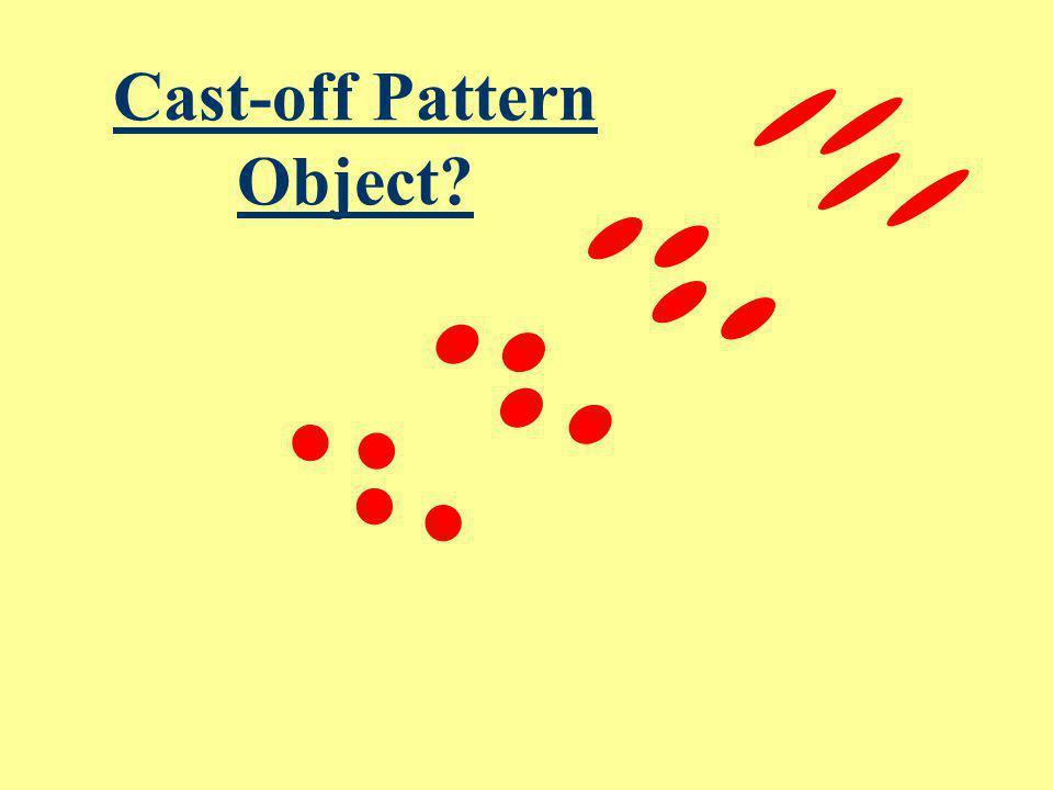 Cast-off Pattern Object