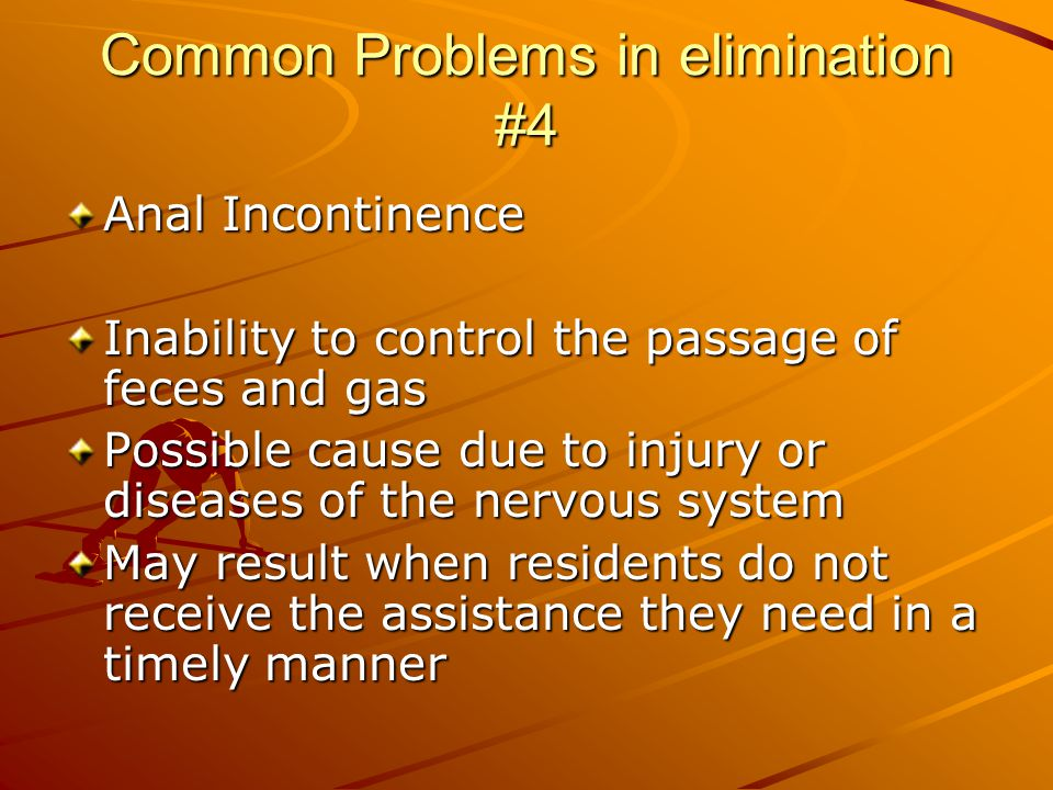 Common Problems in elimination #4