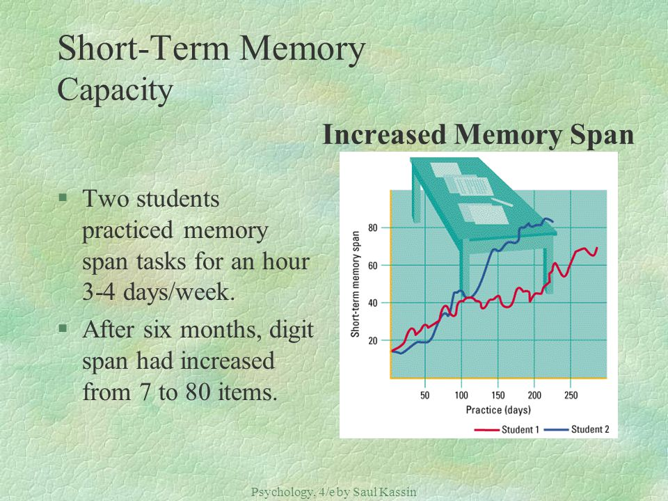 memory span capacity Cat's memory amy bojo compare to dogs, cats' memory span generally last for 16 hours as oppose to dogs' which retains their memory for only 5 minutes.