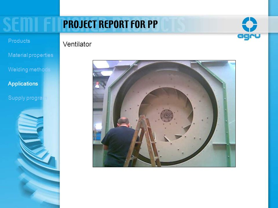 PROJECT REPORT FOR PP Ventilator Products Material properties