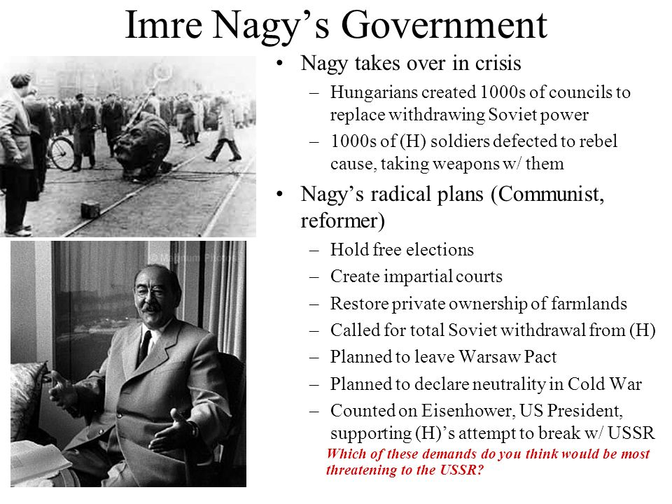 Imre Nagy's Government