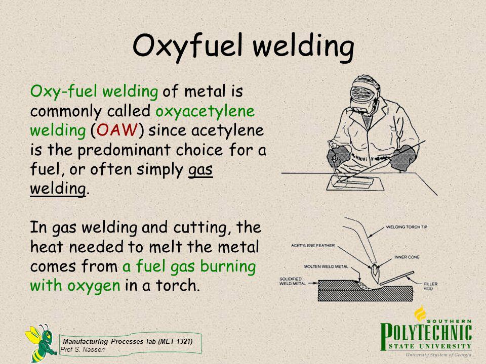 Oxyfuel welding