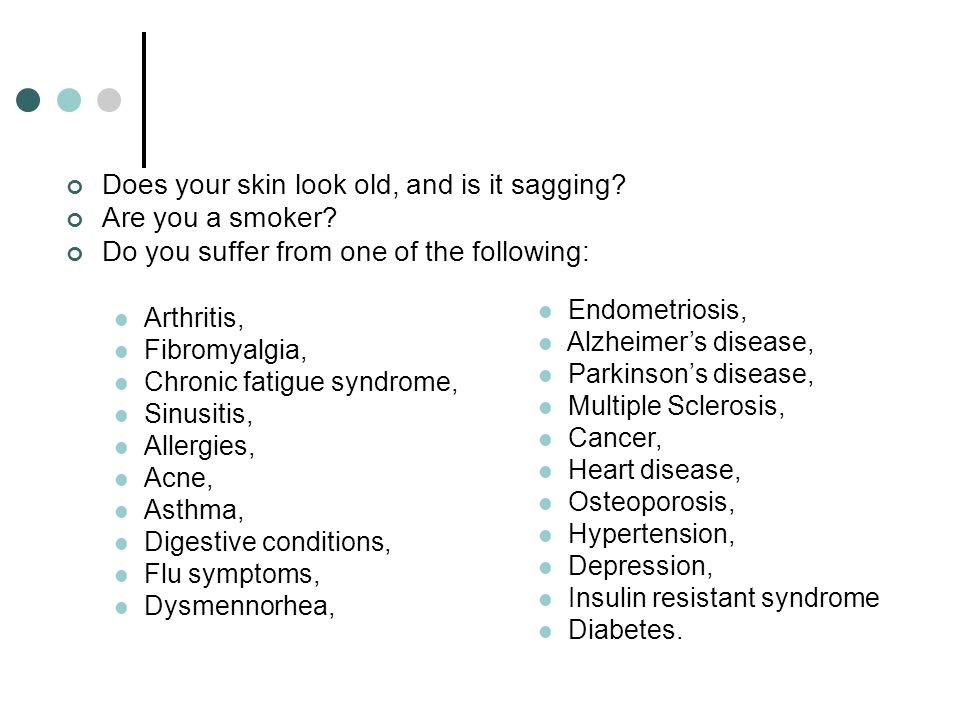 Does your skin look old, and is it sagging Are you a smoker