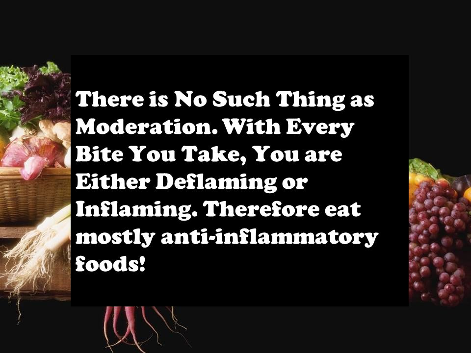 There is No Such Thing as Moderation