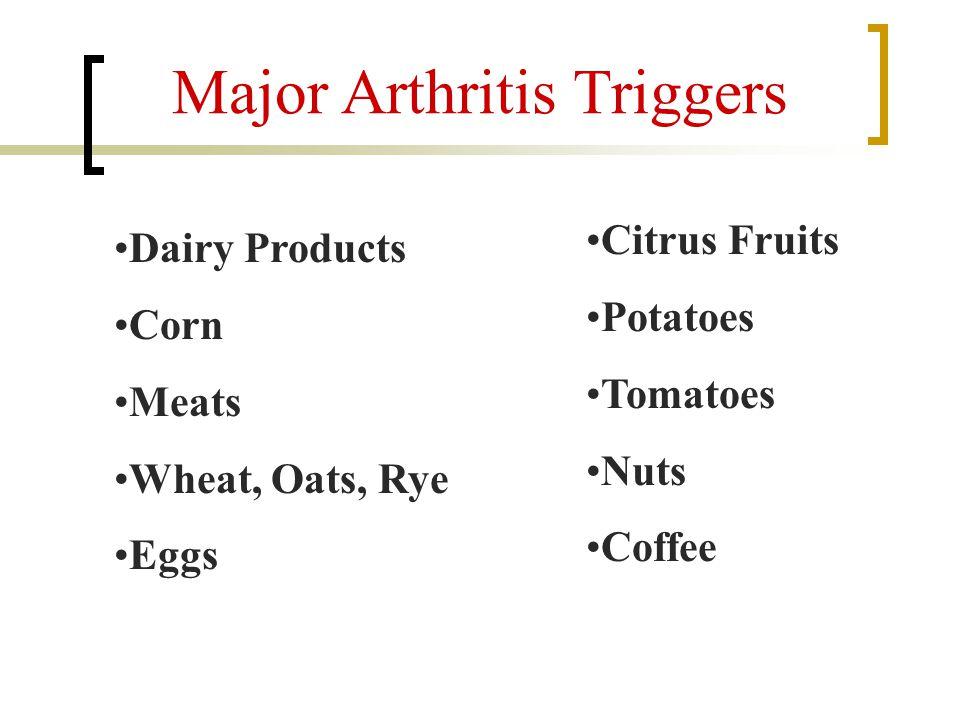 Major Arthritis Triggers