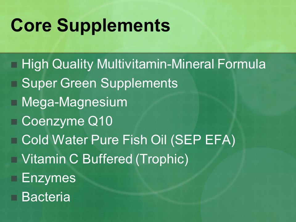 Core Supplements High Quality Multivitamin-Mineral Formula
