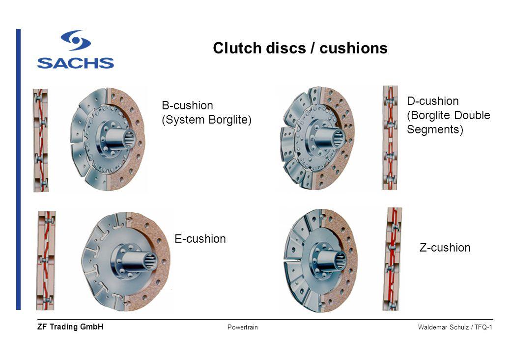 Clutch discs / cushions