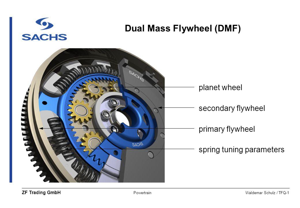 Dual Mass Flywheel (DMF)