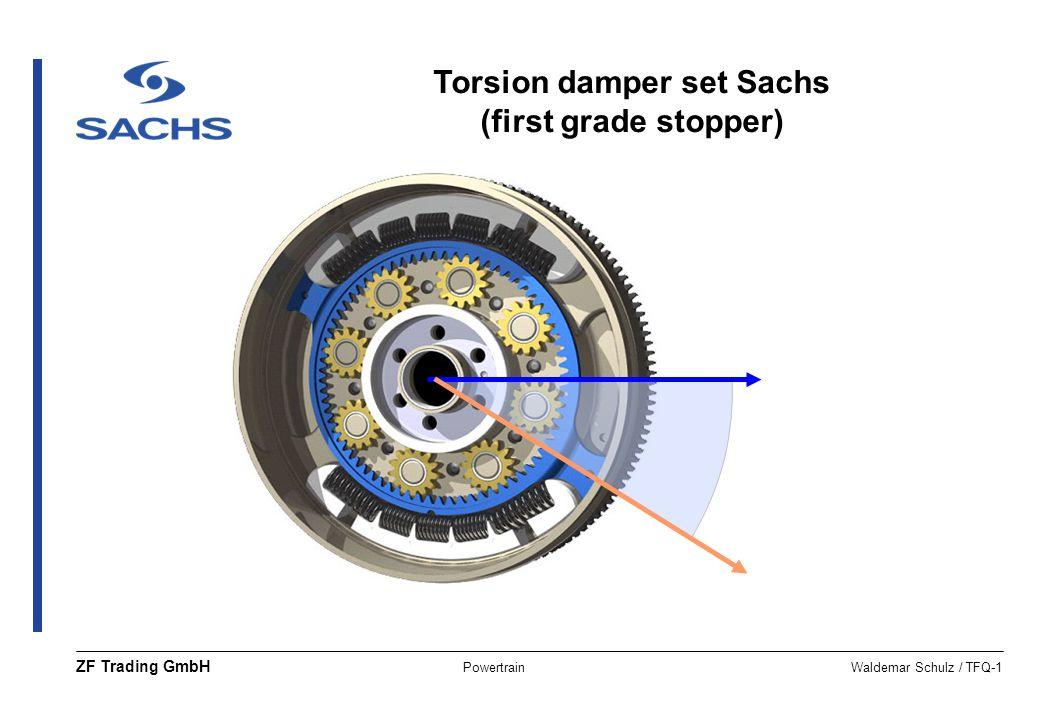 Torsion damper set Sachs (first grade stopper)