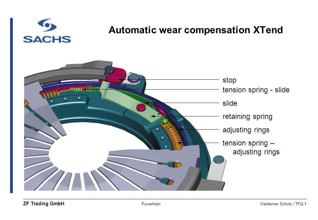 Automatic wear compensation XTend