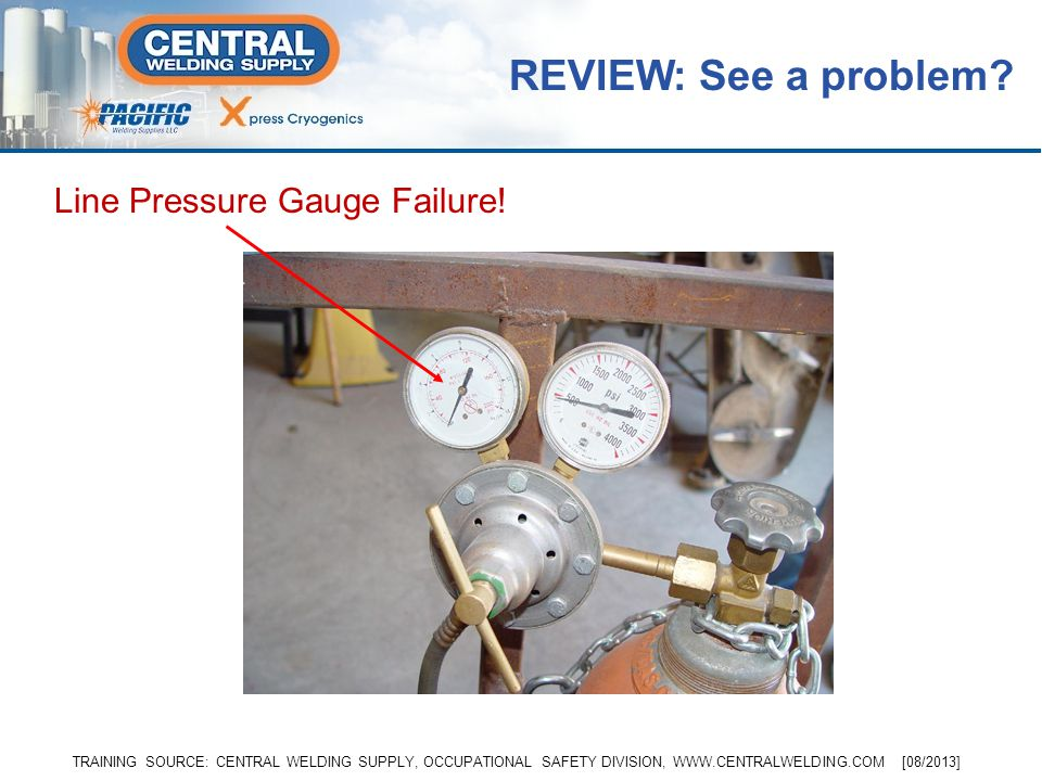 REVIEW: See a problem Line Pressure Gauge Failure!