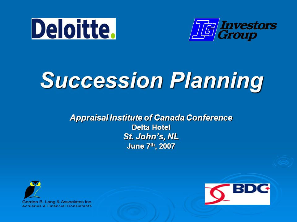 Appraisal Institute of Canada Conference