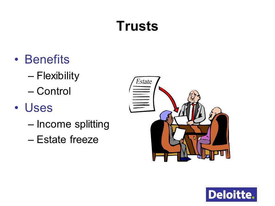 Trusts Benefits Uses Flexibility Control Income splitting