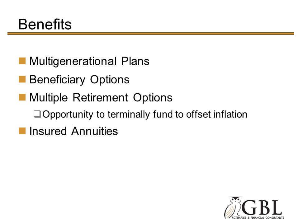 Benefits Multigenerational Plans Beneficiary Options