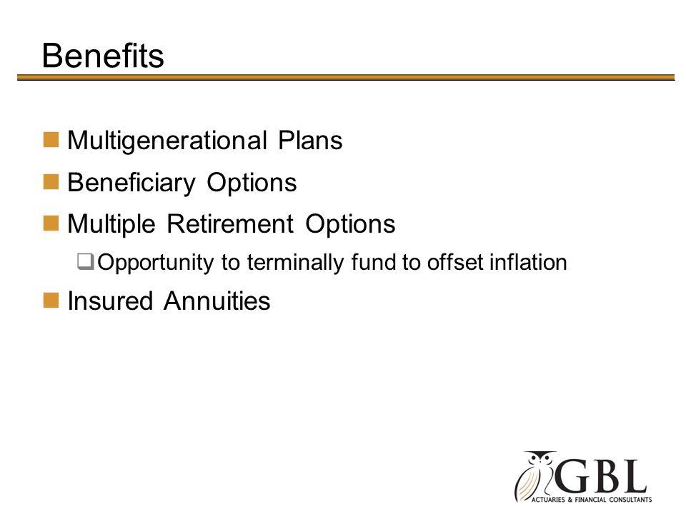 Benefits Multigenerational Plans Beneficiary Options
