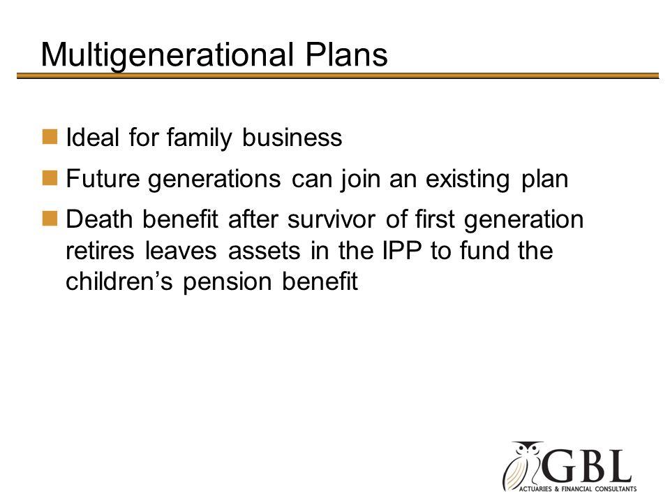 Multigenerational Plans