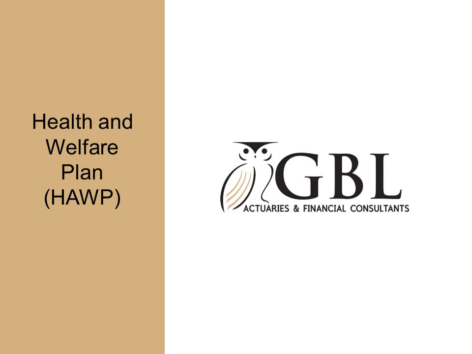 Health and Welfare Plan (HAWP)