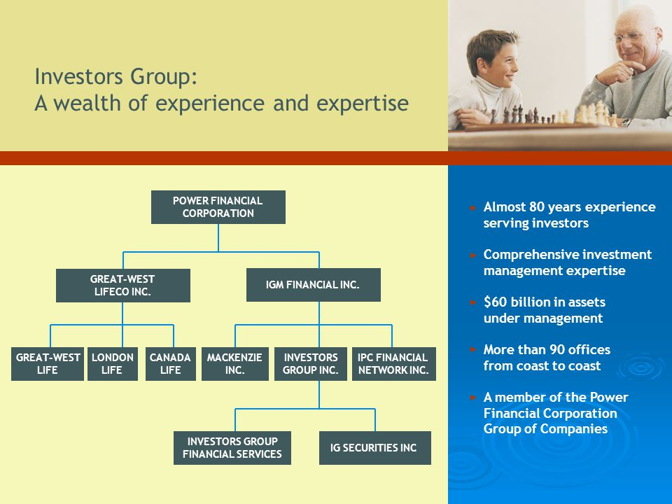 Investors Group: A wealth of experience and expertise
