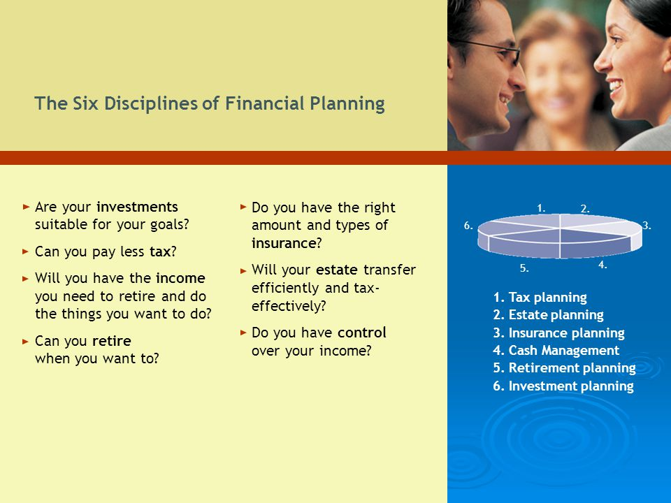 The Six Disciplines of Financial Planning