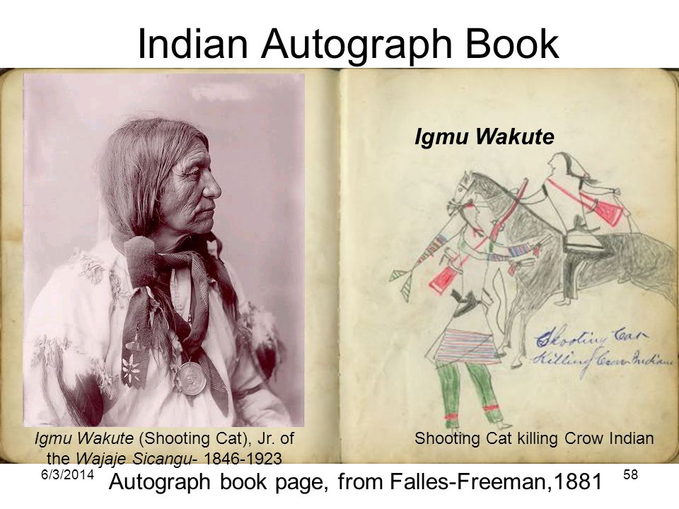 Igmu Wakute (Shooting Cat), Jr. of the Wajaje Sicangu- 1846-1923